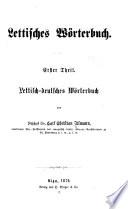 Lettisches worterbuch