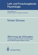 Stimmung als Information