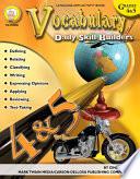 Vocabulary  Grades 4   5
