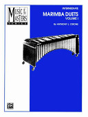 Music of the Masters  Vol 1  Marimba Duets
