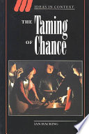 Ebook The Taming of Chance Epub Ian Hacking Apps Read Mobile
