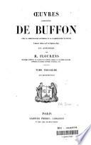 Oeuvres compl  tes de Buffon  avec la nomenclature linn  enne et la classification de Cuvier
