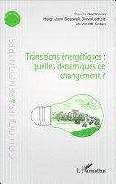 illustration Transitions énergétiques : quelles dynamiques de changement ?