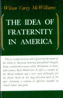 The Idea of Fraternity in America