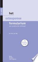 Het Osteoporose Formularium
