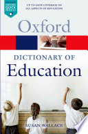 A Dictionary of Education