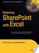Beginning SharePoint with Excel