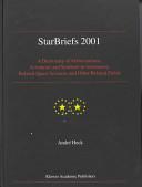 StarBriefs 2001