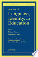 Queer Inquiry In Language Education Jlie V5 1