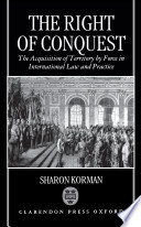 The Right of Conquest