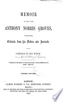 Memoir of the Late Anthony Norris Groves Book PDF