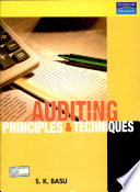 Auditing  Principles and Techniques