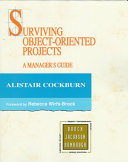 Surviving Object Oriented Projects
