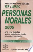 Aplicación práctica del ISR E IMPAC, personas Morales 2004