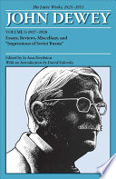 The Later Works of John Dewey, Volume 3, 1925 - 1953 Pdf/ePub eBook