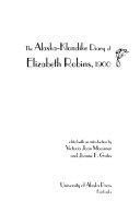 download ebook the alaska-klondike diary of elizabeth robins, 1900 pdf epub