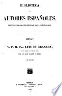 Obras del v  p  m  fray Luis de Granada