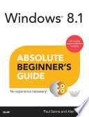 Windows 8 1 Absolute Beginner s Guide