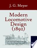 Modern Locomotive Design 1892