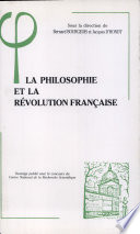 La philosophie et la Révolution française