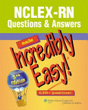 NCLEX RN   Questions   Answers Made Incredibly Easy
