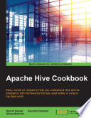 Apache Hive Cookbook book