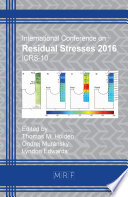 Residual Stresses 2016