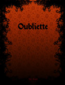 Oubliette book