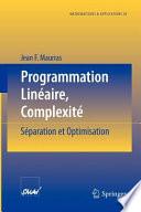 illustration Programmation Linéaire, Complexité