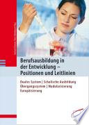 Berufsausbildung in der Entwicklung - Positionen und Leitlinien