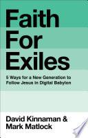 Faith for Exiles Book PDF