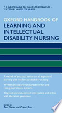 Oxford Handbook of Learning and Intellectual Disability Nursing