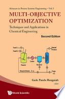 Multi Objective Optimization Techniques And Applications In Chemical Engineering Second Edition  book