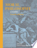 Moral Philosophy: A Reader : sharp, competing views on a wide...