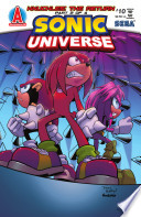 Sonic Universe #10 : against a seemingly never-ending horde of robots,...