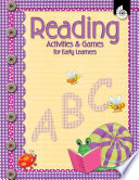 Reading Activities and Games for Early Learners  Early Childhood Activities