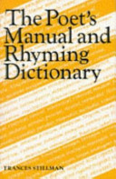 The Poet S Manual And Rhyming Dictionary