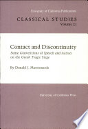 Contact and Discontinuity