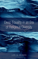 Deep Equality in an Era of Religious Diversity Book