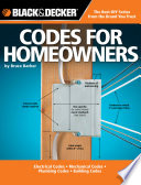 Black   Decker Codes for Homeowners