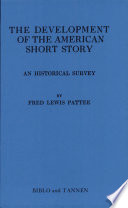 Ebook The Development of the American Short Story Epub Fred Lewis Pattee Apps Read Mobile