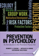 Prevention in Psychology