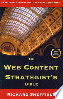 The Web Content Strategist s Bible