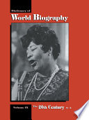 Dictionary Of World Biography The 20th Century O Z