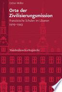 Orte der Zivilisierungsmission