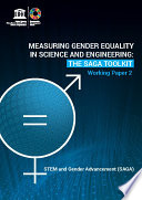 Measuring Gender Equality in Science and Engineering