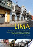 Lima     Centro storico  Conoscenza e restauro   con DVD video