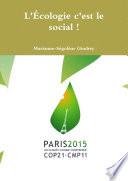 illustration L'Écologie c'est le social !