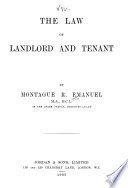 The Law of Landlord and Tenant     Book PDF