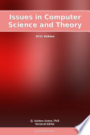 Issues In Computer Science And Theory 2011 Edition